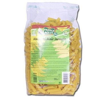 France aglut bio macaroni mais sarrasin sans gluten 500g - Magasin bio arras ...
