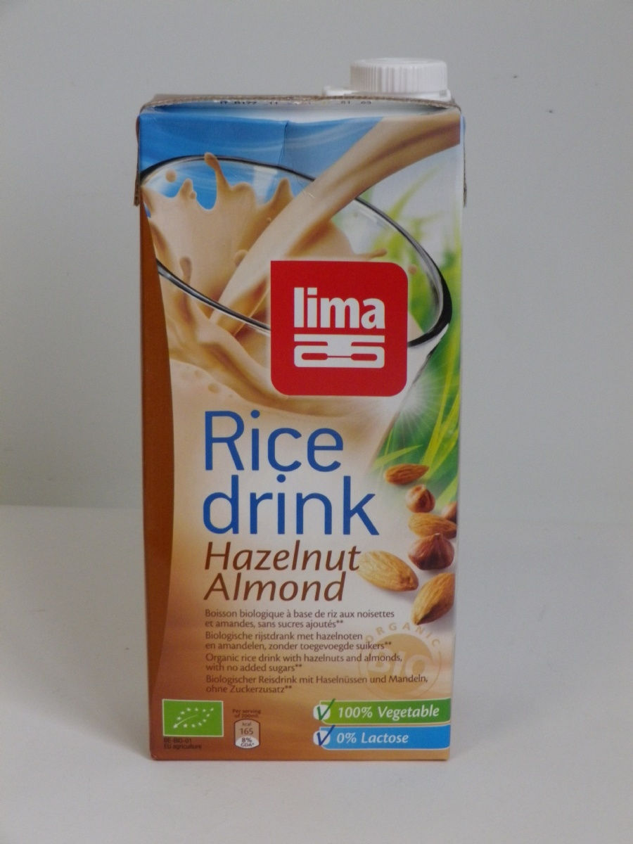 RICE DRINK NOISETTE AMANDE 1l