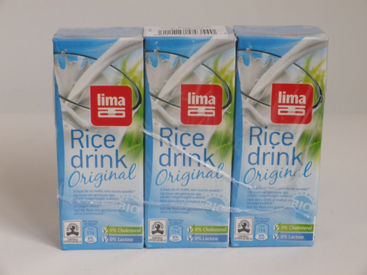RICE DRINK ORIGINAL 3x200ml